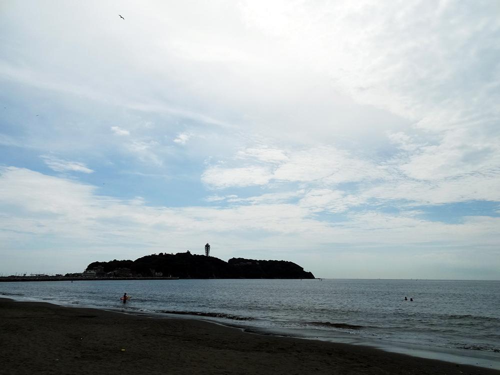 晩夏の江ノ島