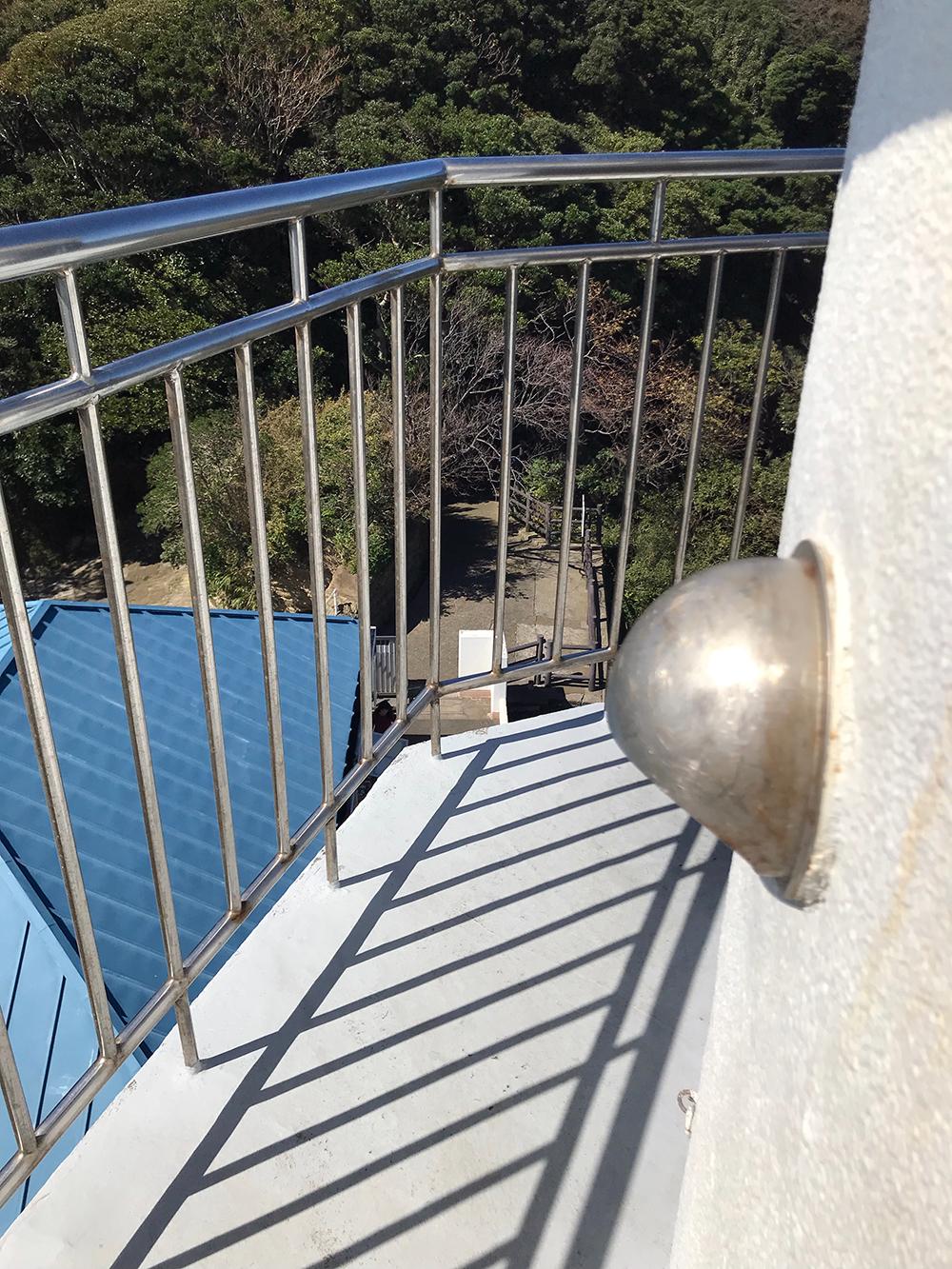 灯台展望 陸側