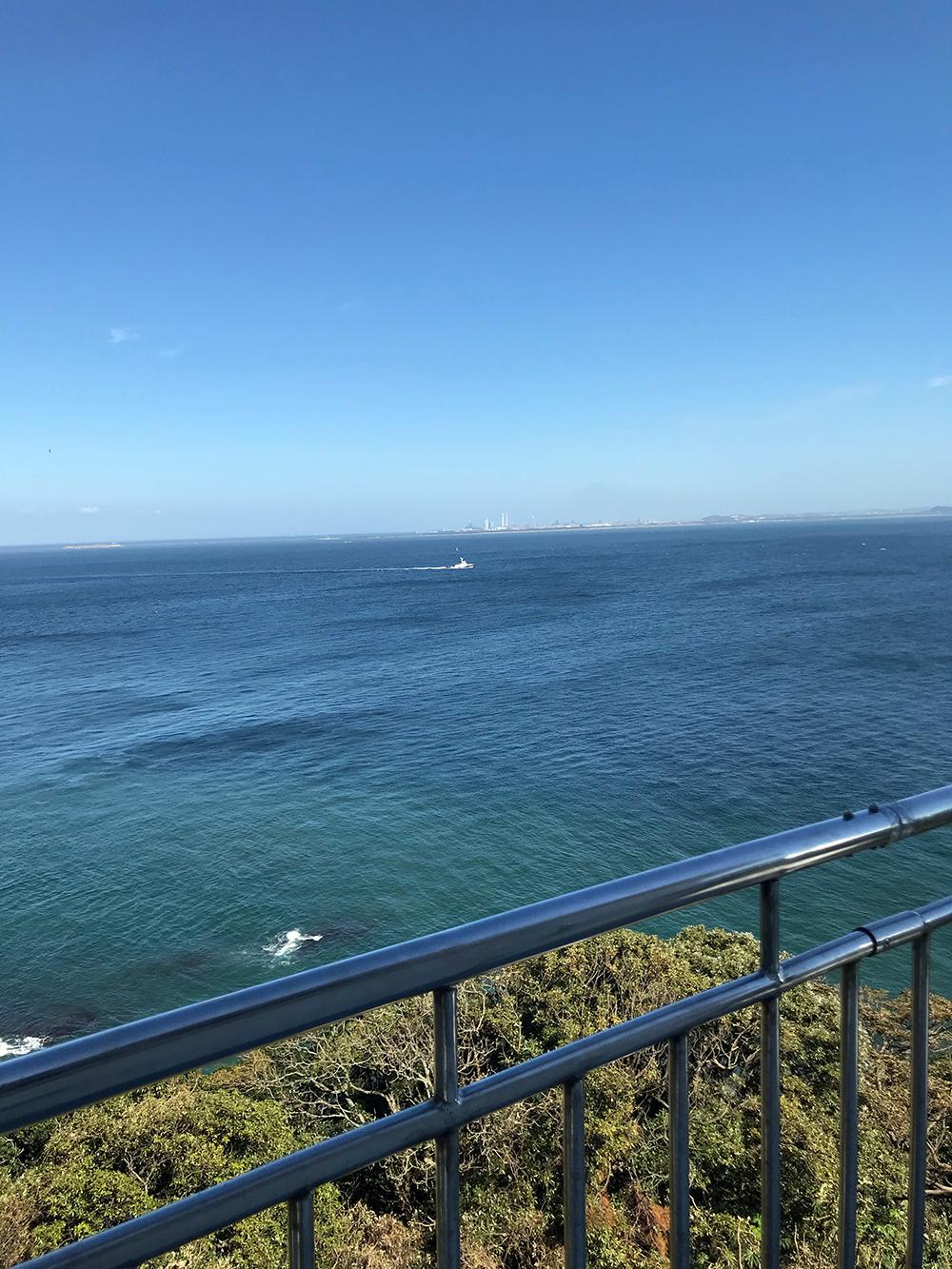 灯台展望 海