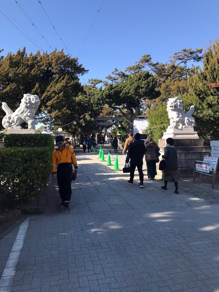 森戸神社 狛犬