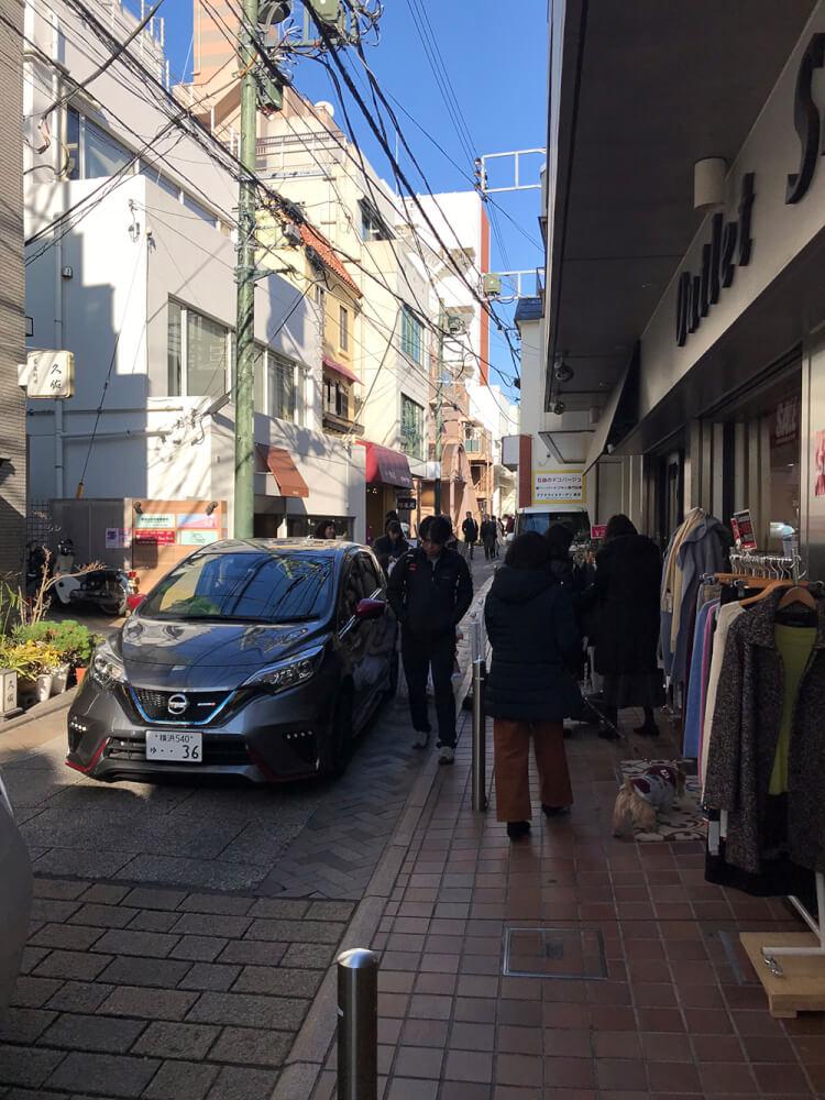 元町 脇道