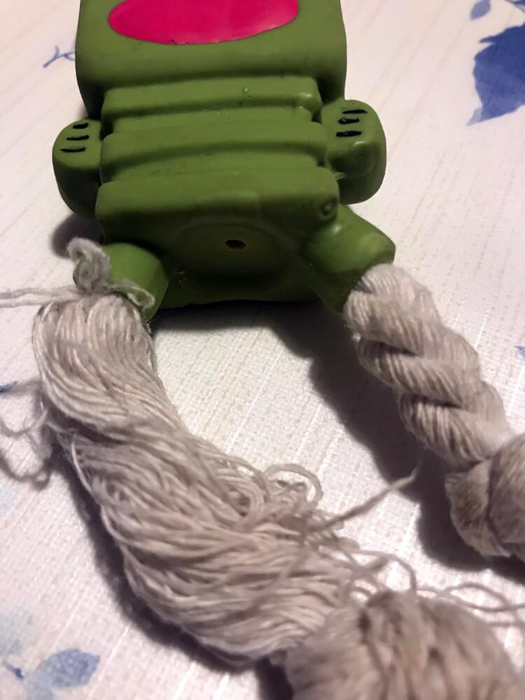 おもちゃ ほぐされたロープ