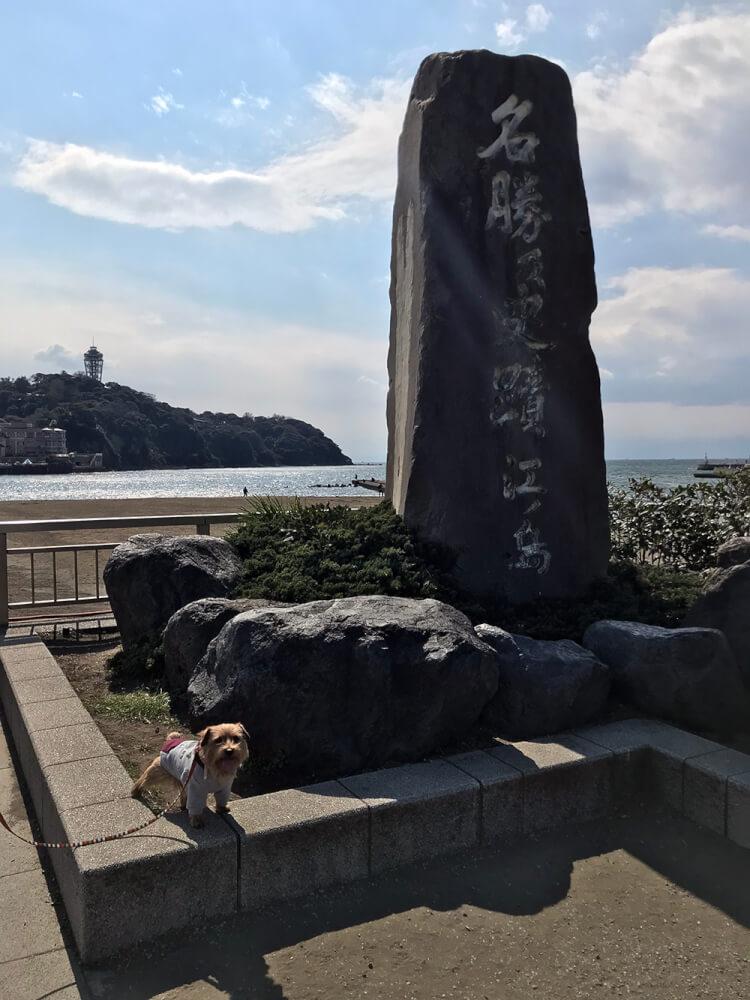 江ノ島 碑