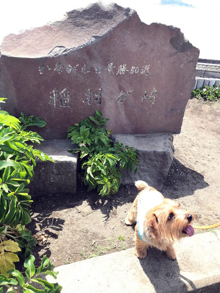 稲村ヶ崎 石碑