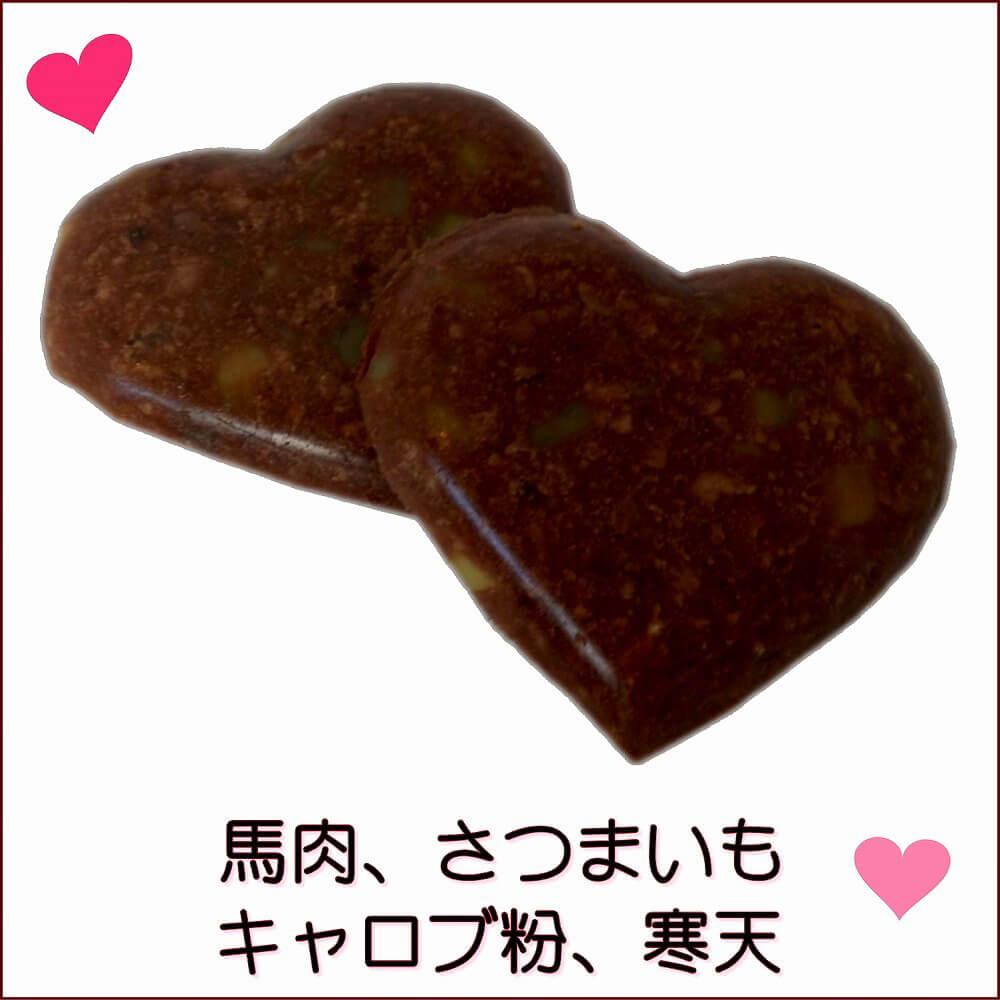 馬肉で出来たチョコレート ドッグ フード